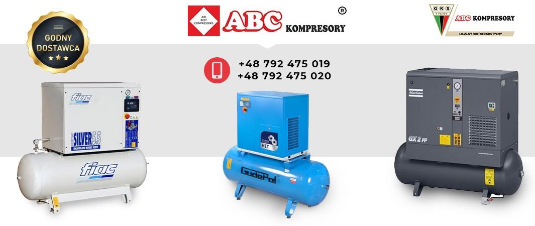 Kompresory śrubowe i tłokowe abc